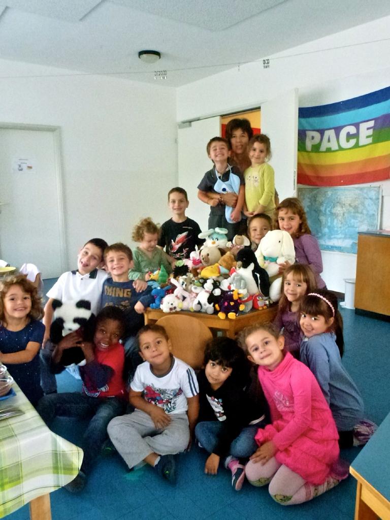 Kindergarten Rancate Gruppenfoto