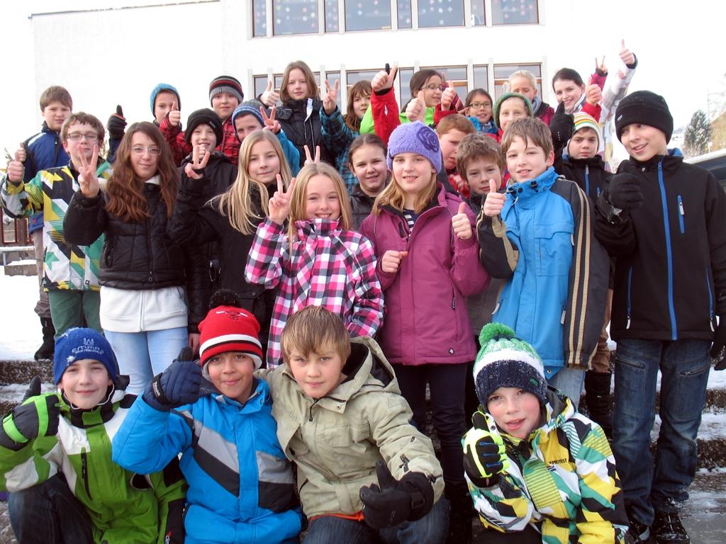 5. Klasse Niederwil Gruppenfoto