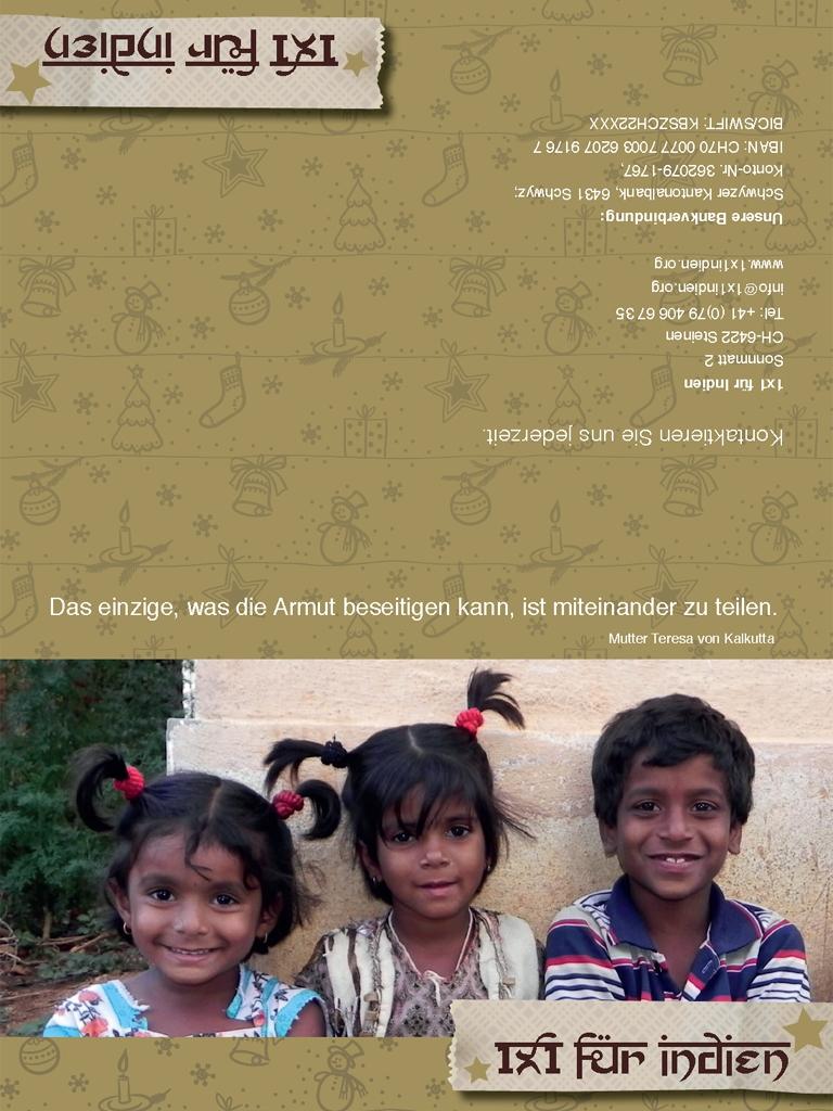 Weihnachtskarten 2012