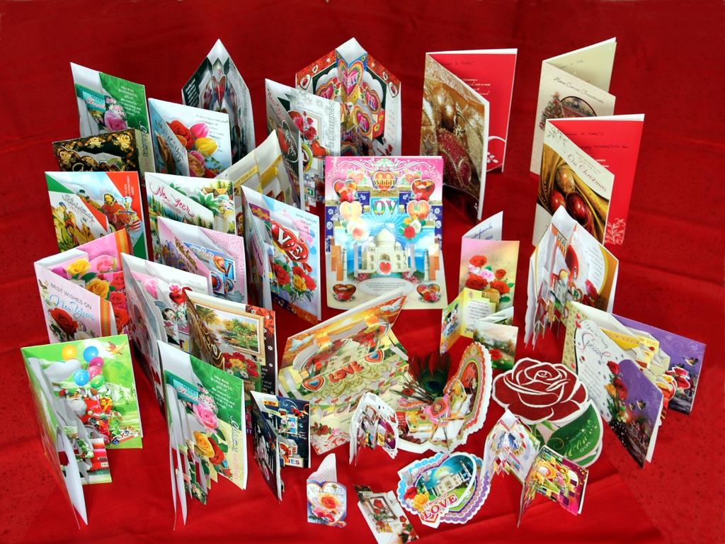 Dankes- und Weihnachtskarten