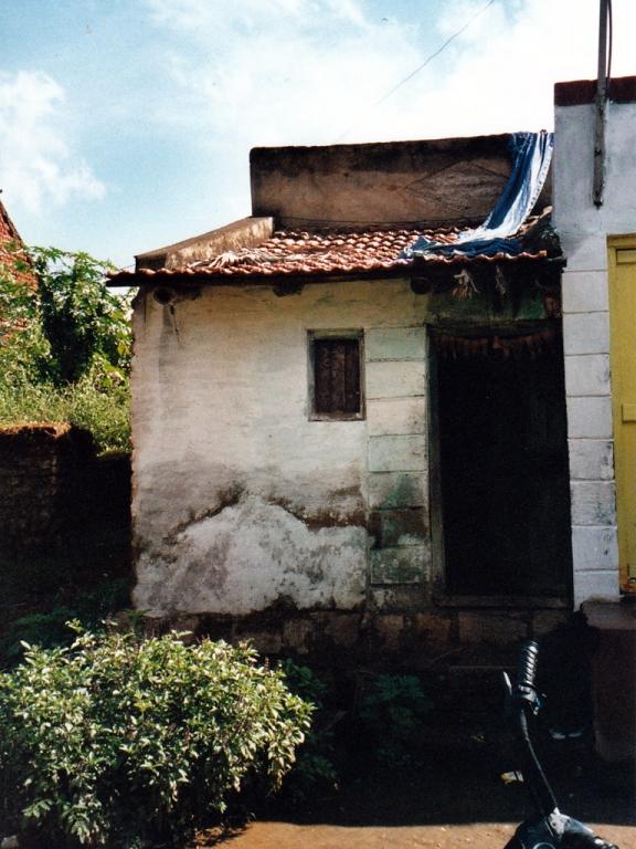 Das Haus von unserem Patenkind Pooja und ihrer Familie