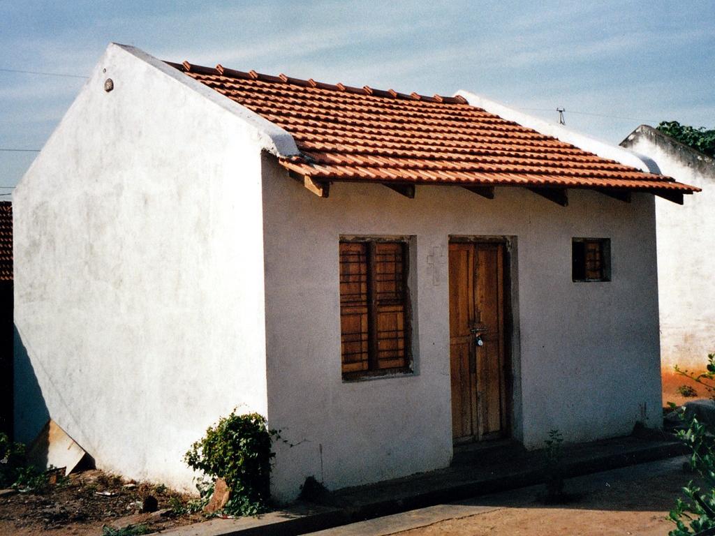 Das neu Haus von Robert und seiner Familie.