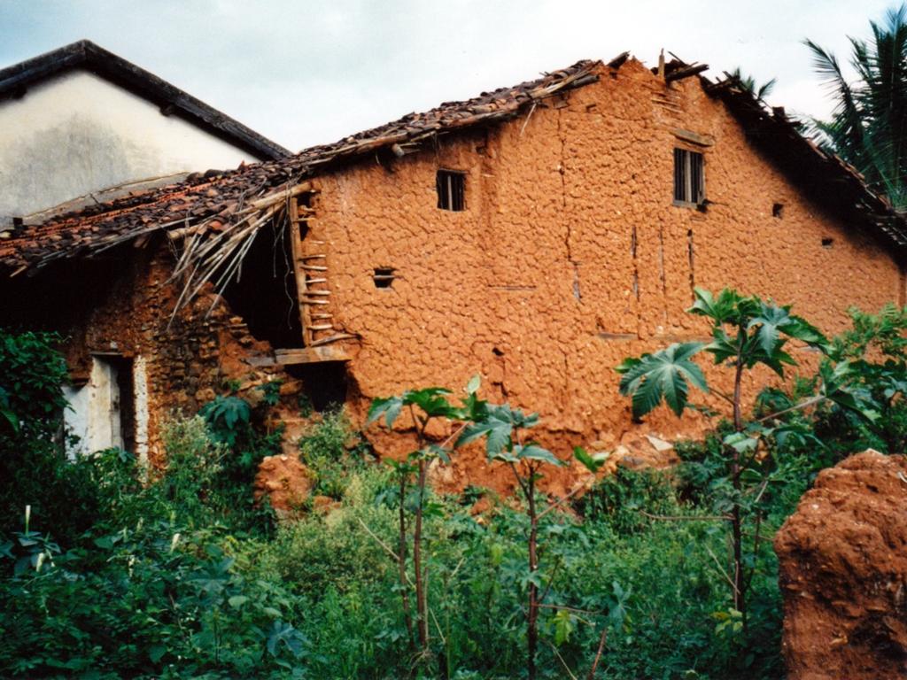 Das Haus von unserem Patenkind Robert und seiner Familie